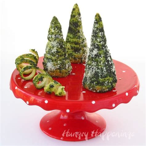 cresent roll christmas tree with spinach green pesto crescent roll trees