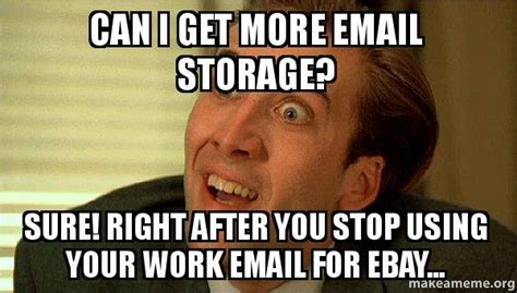 how do you get more storage on your iphone can i get more email storage sure right after you stop