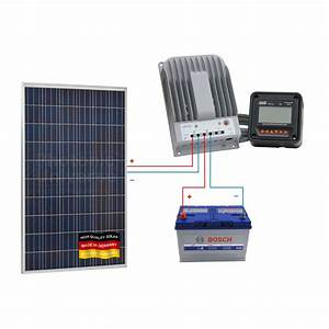 280w 12v  24v Solar Panel Charging Kit For Motorhome
