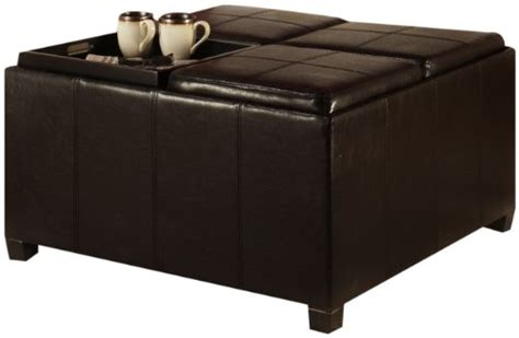 Ottoman Times by Convenience Concepts Designs4comfort Times Square Ottoman