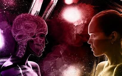 Surreal Dark Digital Mood Skull Face Manipulation