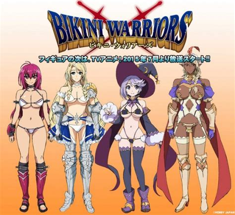 bikini warriors tendra anime