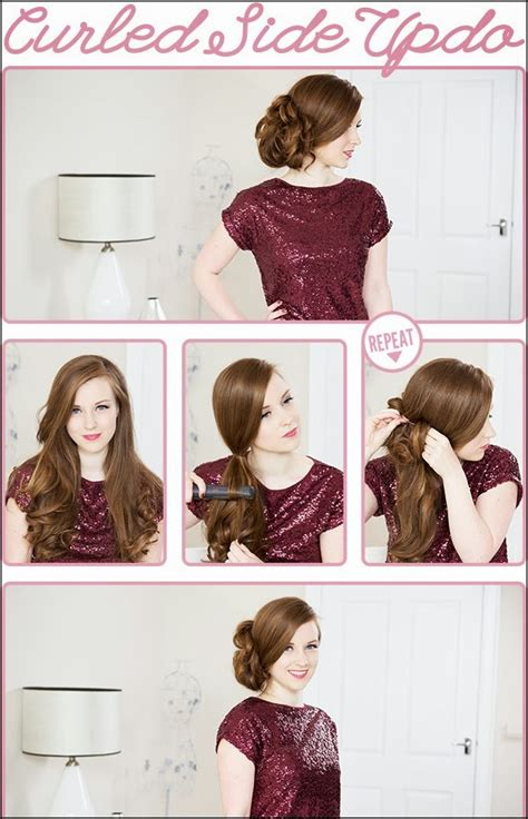 great step  step updo hair tutorials