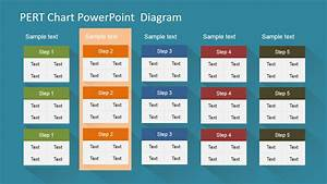 Pert Chart Powerpoint Diagram