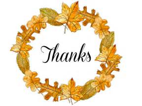 Thanksgiving Thank You Clip Art Free