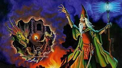 Wizard Magic Dragons Dungeons User Wizards Spells