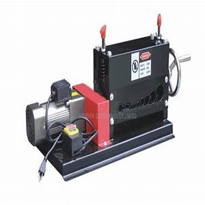 Manual Electric Double With Wire Stripping Machine