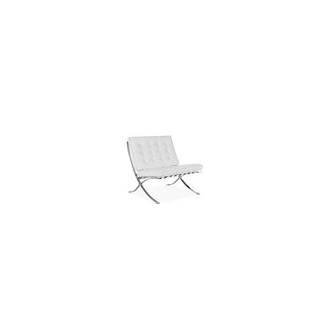fauteuil en cuir blanc fauteuil design barcelona en cuir blanc location de meubles