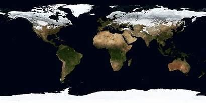 Lapse Seasons Earth Season Change Satellite Shows
