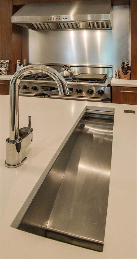 island trough sink  prep   easier