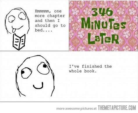 Funny Book Memes - 346 minutes later ermilia