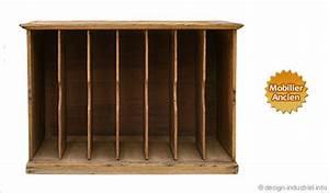 Meuble Casier Rangement : meuble casier style cartonnier ~ Teatrodelosmanantiales.com Idées de Décoration