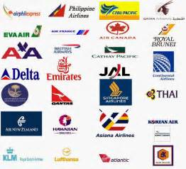 Airline Logos and Names List