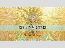 SOL INVICTUS Winter Solstice Gathering AGORA Austin at