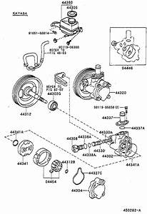 1993 Toyota Corolla Power Steering Pump Replacement