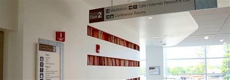 Wayfinding Signage for Hospitals, Medical Centers, Clinics