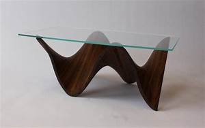 Coffee table simple woodworking projects for coffee for Glass inlay coffee table