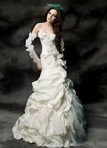 love this avant garde style dress blushing brides With avant garde wedding dress