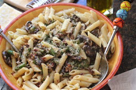 Easy Dinner Idea Spring Penne  Toni Spilsbury