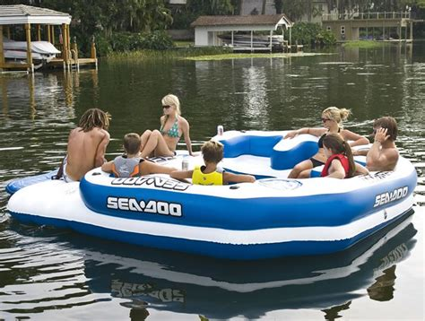 Coleman Inflatable Boat Costco by Best 25 Inflatable Island Ideas On Pinterest Diy Lake