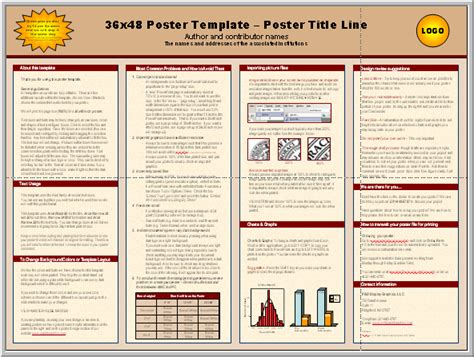 postersresearch  powerpoint scientific poster templates