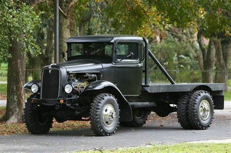 1934 Ford Rat Rod Flatbed Truck  4wd Dually Quality
