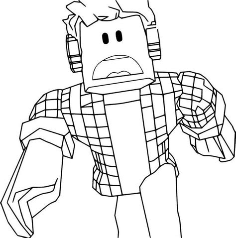 fresh coloring pages roblox  coloring pages