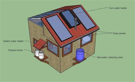 diy  grid solar tiny house