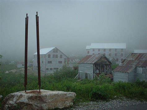 abandoned alaska  ghost towns ruins