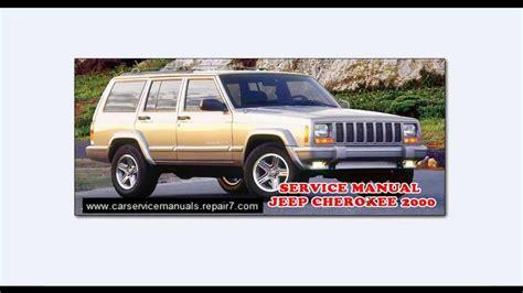 manual repair free 1994 jeep grand cherokee navigation system jeep cherokee 2000 jeep grand cherokee problems service manual workshop manual youtube