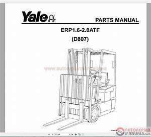 Auto Repair Manuals  Yale Forklift Spare Parts Pdf Full Set