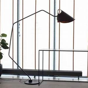 jacco maris mrs q coated steel leather shade floor lamps With mrs q floor lamp
