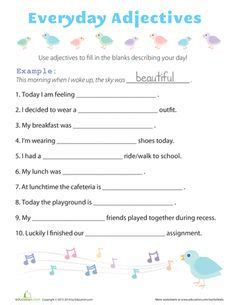school st grade images worksheets grammar