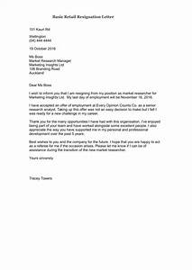 Professional Letter Template Word 33 Simple Resign Letter Templates Free Word Pdf Excel
