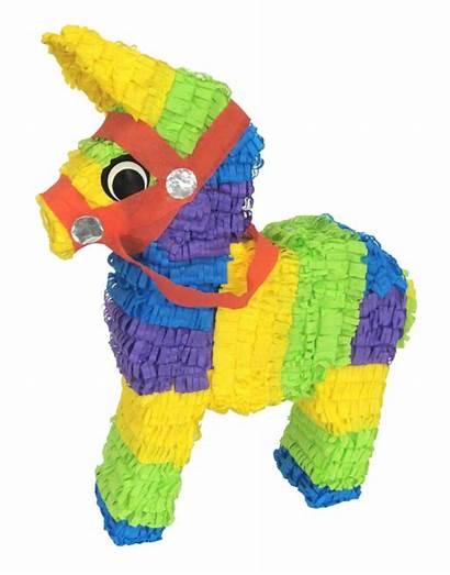 Pinata Donkey Mexican Burro Pinatas Party Clipart