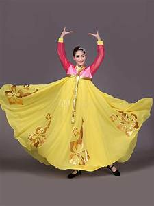 Halloween Korean Costume Hanbok Womenu0026#39;s North Korean Traditional Clothing Embroidery Chiffon ...