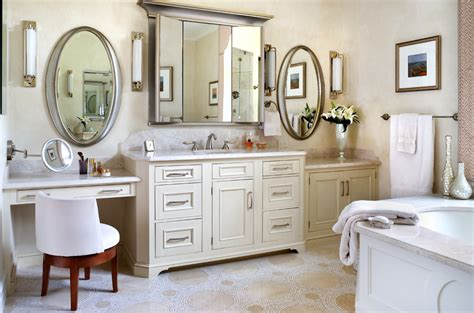 bathroom makeup vanity cabinets baseboard trim styles kitchen transitional with cutting
