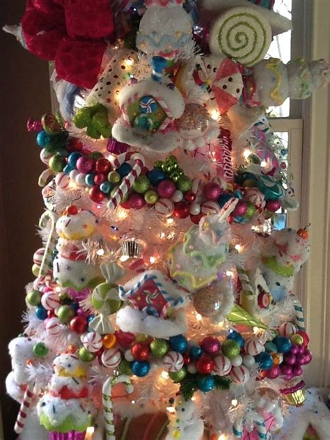 candy land tree check   ornament garland