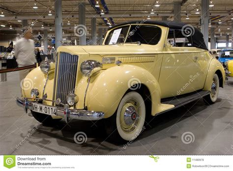 1939 Packard 1700 Editorial Stock Photo. Image Of
