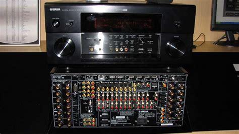 yamaha rx  av receiver audioholics