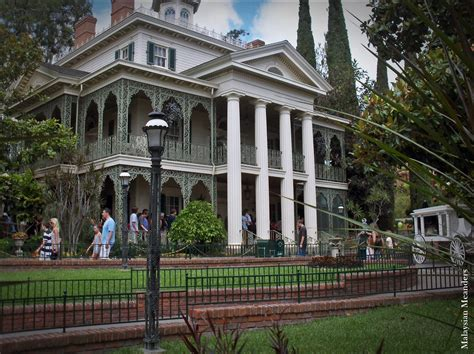 Malaysian Meanders Disney's Haunted Mansions Around The World