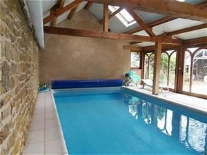 longere renovee avec piscine couverte au sud d39ardentes With construction piscine couverte chauffee