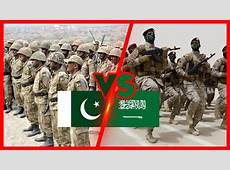 Pakistan VS Saudi Arabia Military Comparison Pakistan