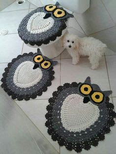 Owl Bathroom Set Crochet Pattern by 1000 Images About It On Bathroom Sets