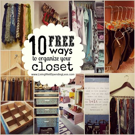 organize my closet organize your bedroom closet living well spending less 174