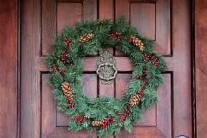 Christmas, Front, Door, Decorations