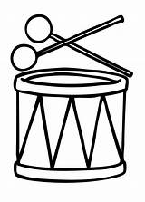 Drum Coloring Pages Print sketch template