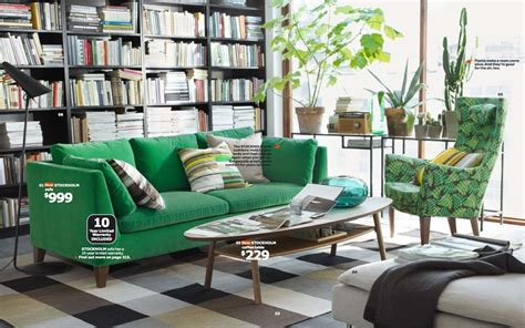 canape vitra ikea green living room interior design ideas