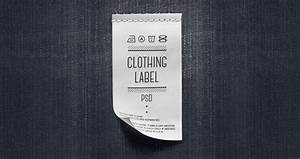 psd clothing label mockup miscellaneous pixeden With clothing label design templates