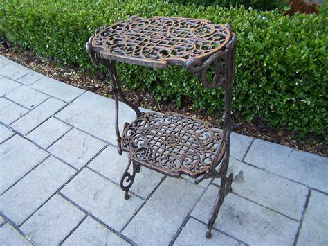 Oakland Living Mississippi Cast Iron 2 Level Plant Stand Antique Platinum Jewelry White Desk Accessories Carved Wooden Mirrors Bin Pulls Nz New York Art And Show 2016 Automobile Radio Instructions Table Lynn Ma Menu Car Auctions Alberta